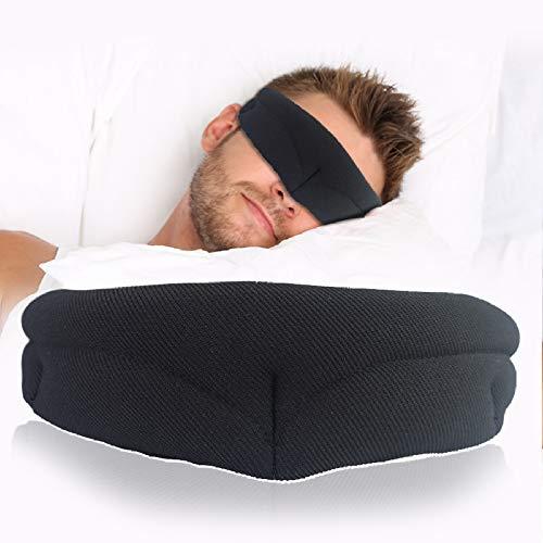 NIUPAN Slaapmasker rust reizen ontspanning slaap oogmasker zachte oogmasker met slaap voor mannen en vrouwen