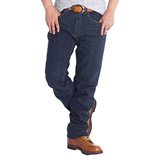 【裾上げ済み】ジーンズ メンズ ストレッチ ウエスト85(股下76cm)6189 ワンウォッシュ71