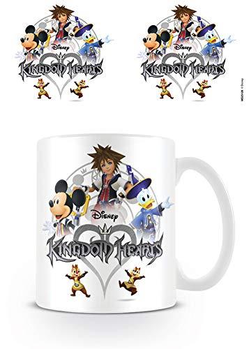 Kingdom Hearts - Taza Logo, 320ml