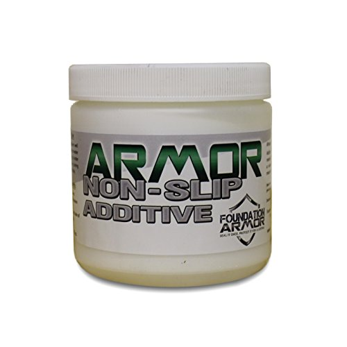 Armor Fine Non Slip Additive for Slip Resistant Acrylic Sealers, Epoxy Coatings, and Urethane Coatings - for Up to 5 Gallons