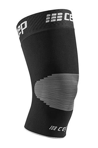 CEP – Ortho Knee Sleeve Unisex | Kniebandage für maximale Knie Stabilisierung in schwarz/grau | Größe IV