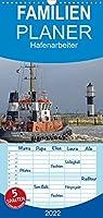 Hafenarbeiter - Familienplaner hoch (Wandkalender 2022 , 21 cm x 45 cm, hoch): Die Kraftpakete im Hafen. Die Bilder zeigen sie bei der Arbeit. (Monatskalender, 14 Seiten )
