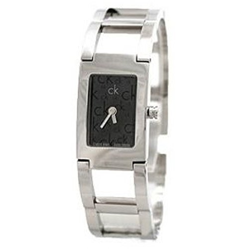Calvin Klein Calvin Klein Dress K0421171 - Reloj para Mujeres, Correa de Acero Inoxidable Color Plateado