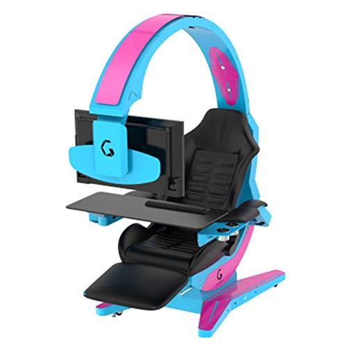 LQTY Sillla Gaming cara Racer,con Respaldo Alto Y Reposabrazos Ajustab