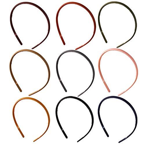 TODEROY - Diadema de acrílico flexible mate para el pelo para las mujeres