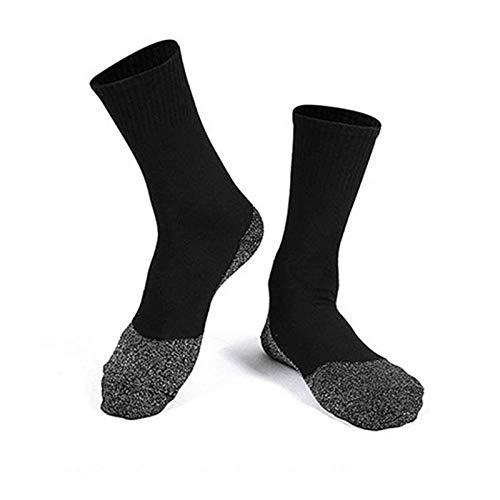N-B Calcetines De Salud Calcetines Calcetines Calidos Crema Cálida De Invierno Calcetines Deportivos Se Usan Para Dormir, Andar En Bicicleta, Acampar, Caminar, Fibra Suave