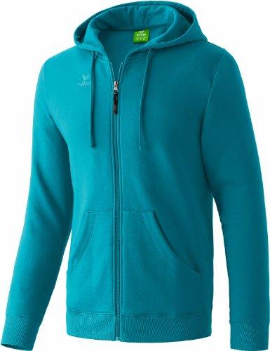 erima Herren Sweatjacke Hooded Jacket, Petrol, L, 207336