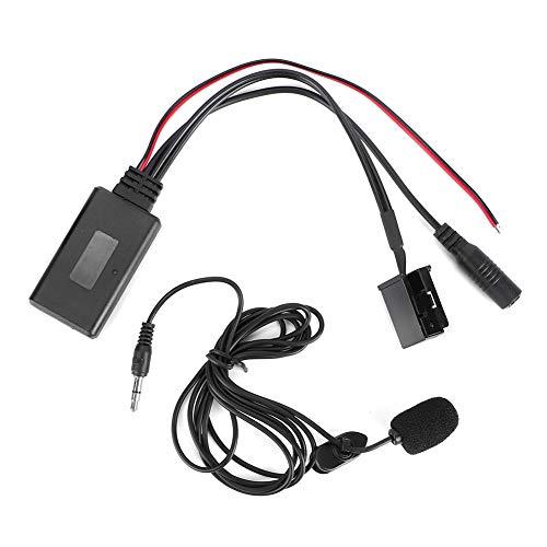 zhuolong Adaptador de micrófono inalámbrico Bluetooth para Coche de 12 Pines para X3 X5 Z4 E83 E85 E86 E39 E53