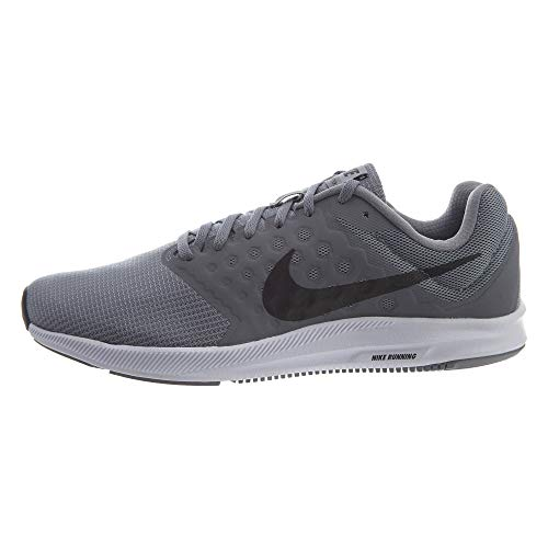 Nike Downshifter 7, Men's Running, Grey (Stealth/black-cool Grey-white), 7 UK
