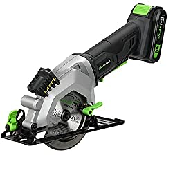 GALAX PRO 20V Cordless Circular Saw with Laser Guide