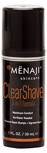 Mënaji Clear Shave 3-in-1 Formula, 1 Fl Oz