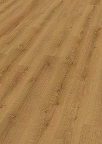 EGGER EHD004 Designboden GreenTec natur-Eiche velvet (7,5mm kompakt 1,99 m²) Design-extrem robust, strapazierfähig, pflegeleicht, wasserfest und PVC frei, braun