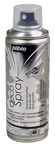 PEBEO Deco, Argento Cromo Spray, 200ml