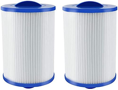 LXTOPN Cartuchos de filtro para spa Viking Spa, filtro de agua para piscinas infantiles Unicel 6CH-940, cartucho para filtro Whirlpool – 46 mm de rosca gruesa de filtro Jacuzzi