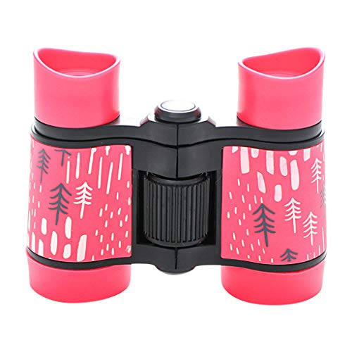 Binoculars for Kids 4X30, Lumumi Boys Girls Shockproof Telescopes for Indoors Outdoor Playset Gift (A)