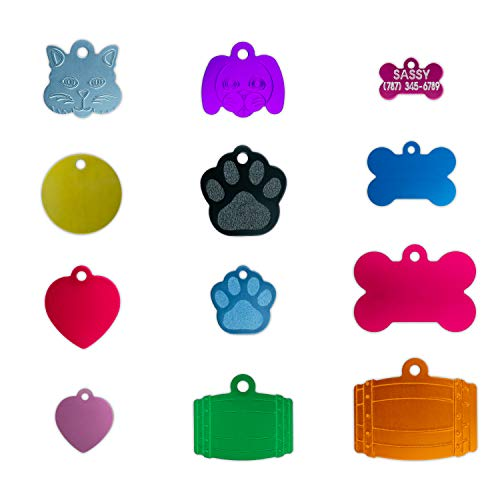 Biscuit Engravings Custom Engraved and Personalized Dog Tags | Pet Tags for Large Variety of Animals | Customized and Sized for Dogs, Cats, Rabbits, Hamsters and Durable Pet Tag
