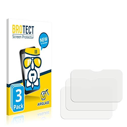 BROTECT Protector Pantalla Cristal Compatible con Panasonic Toughbook M1 Value Protector Pantalla Vidrio (3 Unidades) Dureza 9H AirGlass
