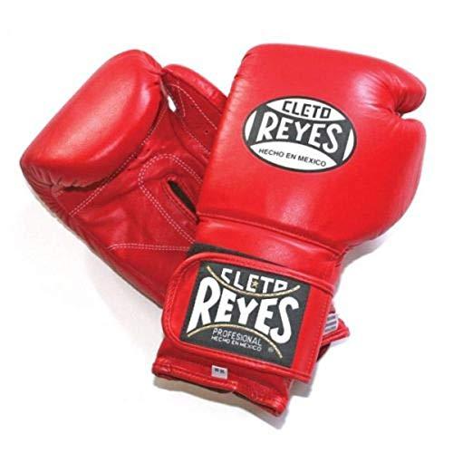 CLETO REYES Boxhandschuhe zum Umwickeln von Sparringen, Rot, 340 g, 400 g, 455 g, rot, 340,2 g (12 oz)