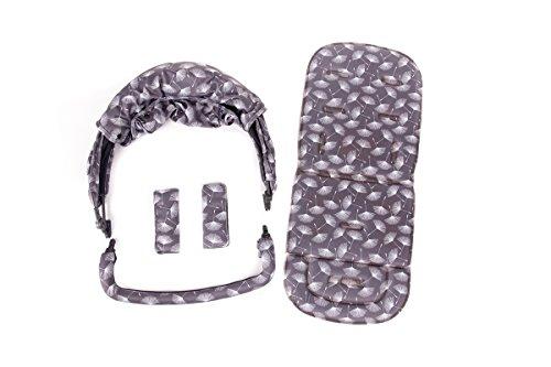 Baby Monsters Pack Tejido Para Silla Compact y Phoenix + Colchoneta - Diseño Hope -Danielstore