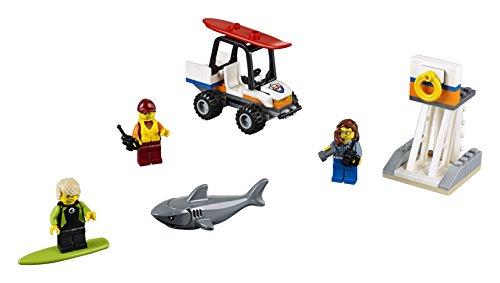 Buggy Plage Gardes-Côtes Ensemble LEGO City - 60163 - 76 pièces - 2
