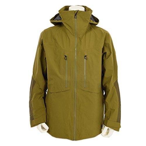 Burton AK 3L Hover Jacket Herren-Snowboardjacke Fir/Jungle