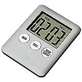 LCD Digital Magnetic Kochen Küche Timer Kurzzeitmesser Küchenuhr Eieruhr Laut