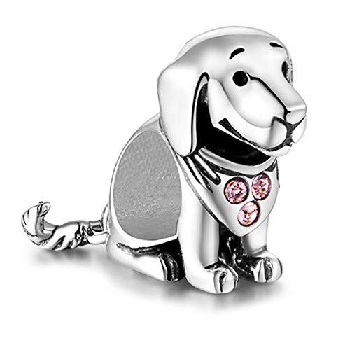 Labrador Hund Charm - Sterling Silber S925 Charm für Damen Pandora Armband