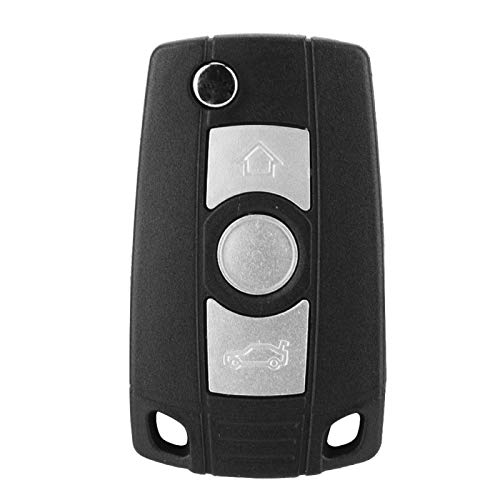 Universal Vehicle Car Smart Key Case 3 Botones Car Remote Car Flip Key Fob Case Blade Cover Carcasa para 1 3 5 7 Series X3 X5 Z3 Z4 Remote Fob