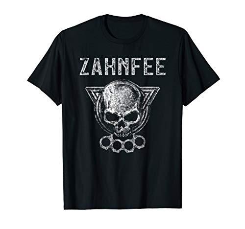 Zahnfee Schlagring T-Shirt I Totenkopf Schädel Schlagring