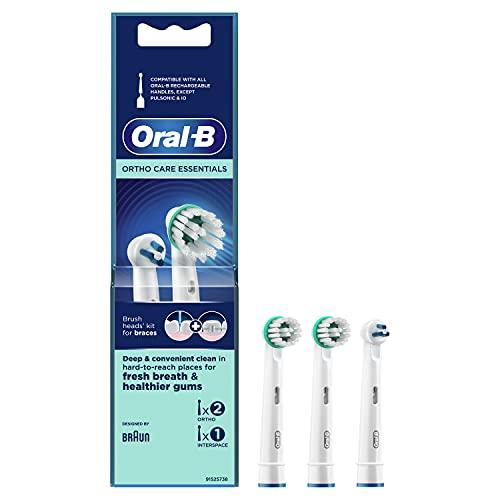Oral-B Ortho Care Essentials Aufsteckbürsten für Zahnspangen