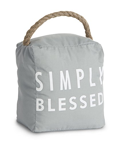 Pavilion Gift Company 72154 Simply Blessed Door Stopper, 5 by 6-Inch