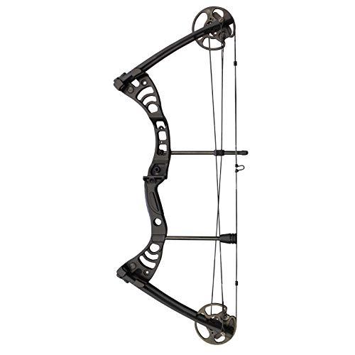 Southland Archery Supply SAS Scorpii 55 Lb 32″ Compound Bow (Black)