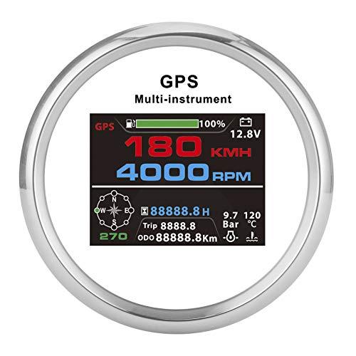 Velocímetro, velocímetro GPS, tacómetro, 3.3 pulgadas para yates