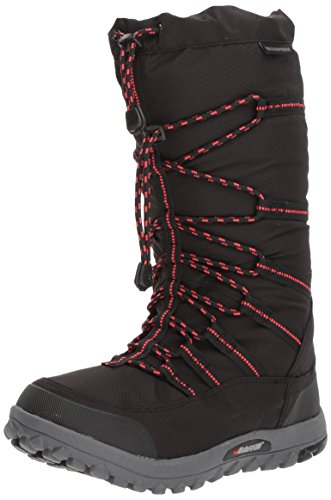 Baffin Womens Escalate, Black/red, 8 Medium US