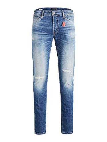 JACK & JONES Male Slim Fit Jeans Glenn ORG jos 688 LID 50SPS 3432Blue Denim