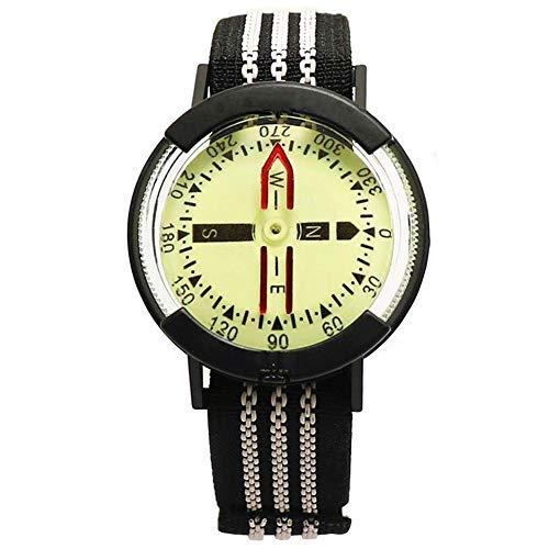 Kakuru Survival Wrist Compass with IP67 Waterproof Shockproof Lightweight, High Accuracy Watch Compass for Flying Underwater Adventure
