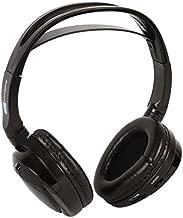 Audiovox Single Channel Wireless Fold-Flat Headphones with Batteries