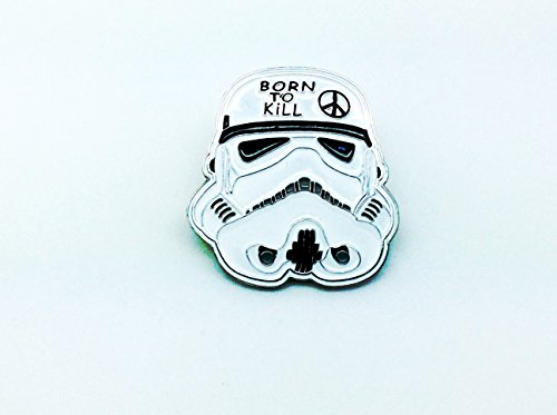 Born To Kill Stormtrooper Star Wars Cosplay Pin Badge