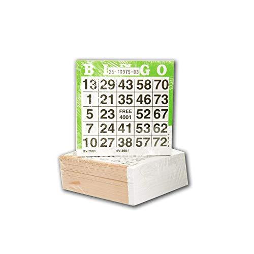 Speelgoed Tarjetas de Bingo 360601,500 Unidades