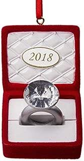 Hallmark 2018 Engagement Ring In Box Ornament