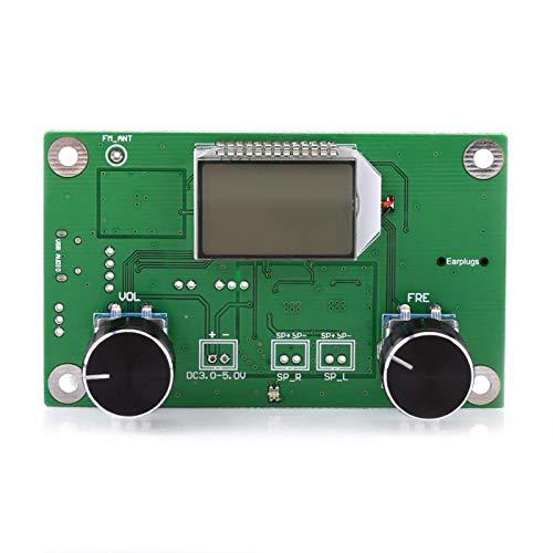 FM-Stereo-Funkmodul Drahtloses Empfängermodul, DSP- und PLL-Empfängermodul-Kit FM-Modul FM-Radioempfängermodul Digital für DIY Arduino