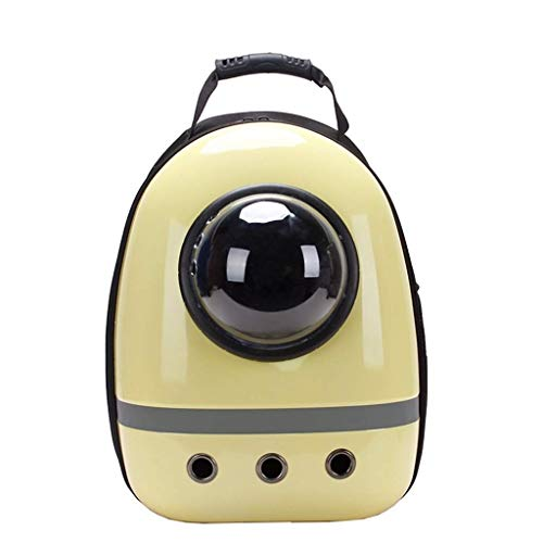 SCDCWW Carrier Bubble Backpack Pet Travel Bag Small Dog Space Capsule Knapsack Waterproof Breathable Medium Dogs Carrier Backpacks Bubble for Hiking