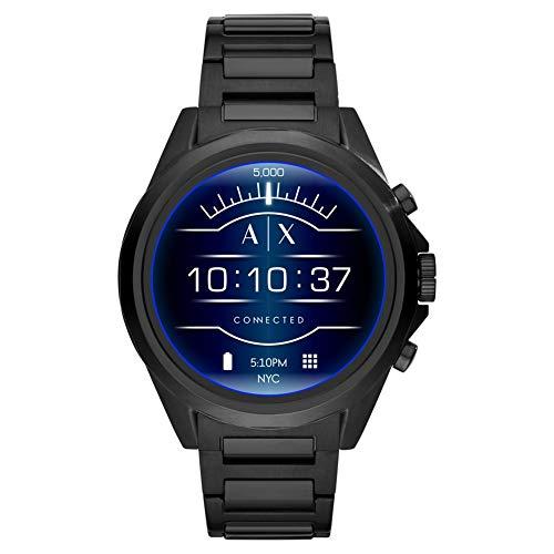Armani Exchange Smartwatch Uomo con Cinturino in Acciaio Inox AXT2002
