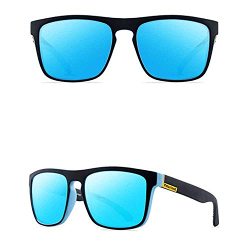 nobrand Occhiali da sole quadrati per donna Occhiali da sole quadrati di design classico Occhiali da sole con montatura grande UV400
