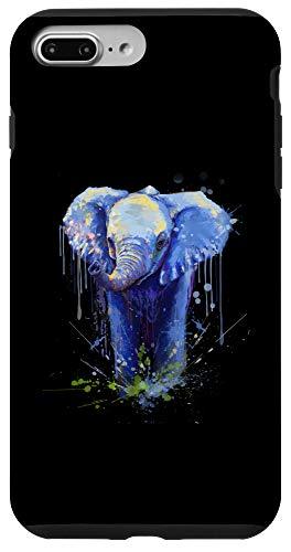 iPhone 7 Plus/8 Plus Elephant Artwork - Big Mammal Elephant Artwork Gift Case