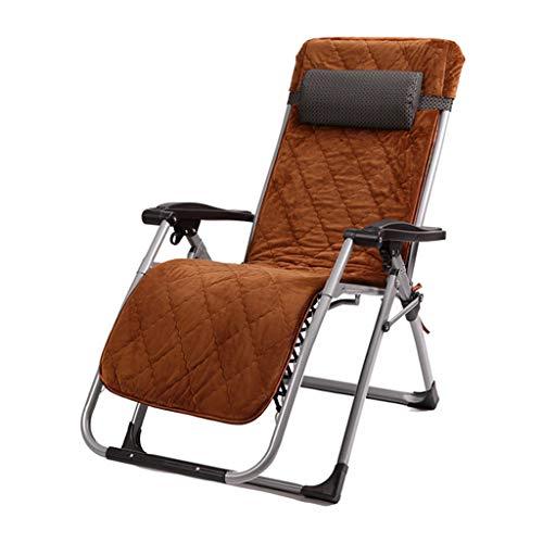 Matelas Marron Mat Chaise De Repos Multi-Fonction Inclinable Pliant Simple Adulte Portable