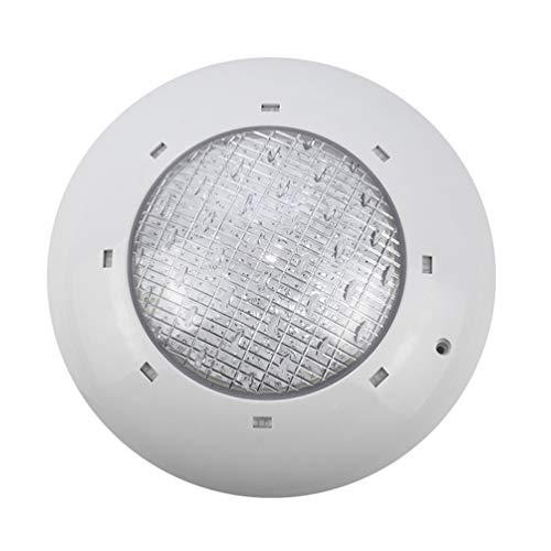 Uonlytech LED Underwater Light 12V Swimming Pool Light Waterproof Diving Lamp Wall Light Decoration(Colorful)