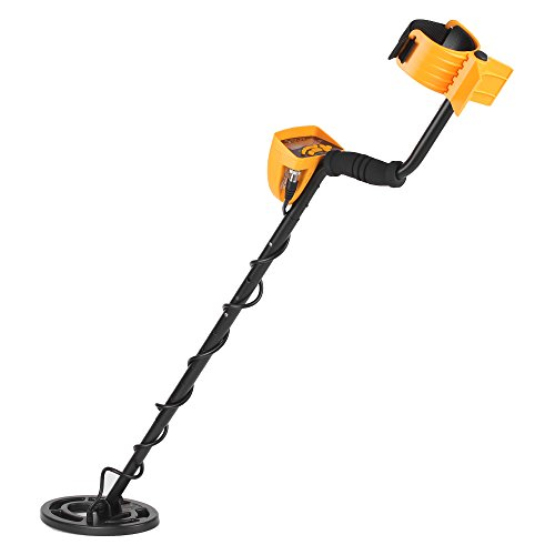 Metal Detector,Professional LCD Display Nugget Detector High Performance with Adjustable Sensitivity Waterproof Search Coil