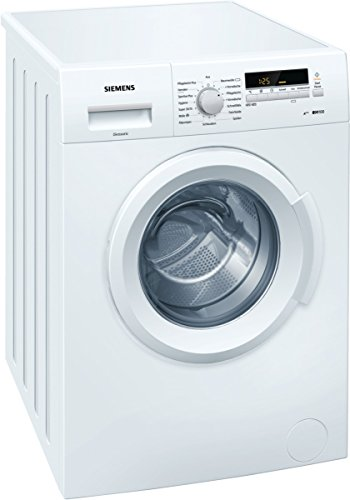 Siemens WM14B2E2 Waschmaschine FL / A+++ / 153 kWh/Jahr / 1395 UpM / 6 kg / 10560 l/Jahr / Großes Display mit Endezeitvorwahl /WaterPerfect
