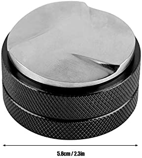 Hot Manual Barista Coffee Espresso Evenly Pressure Tamper Solid and three angled slope Holder for thick powdered Kitchen Accessories